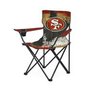 Idea Nuova NFL Kids Camping Chair w/ Cup Holder; San Francisco 49's