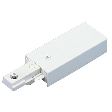 Royal Pacific Live End-Feed Connector in White