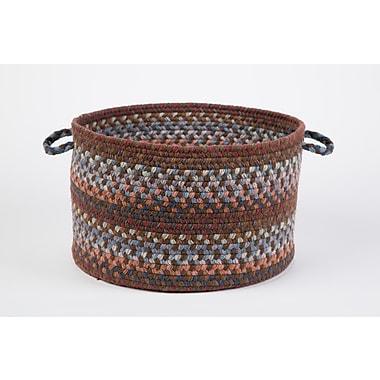 Wildon Home Brendis Basket; Walnut