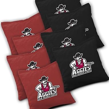 AJJCornhole NCAA Cornhole Bag (Set of 8); New Mexico State Aggies