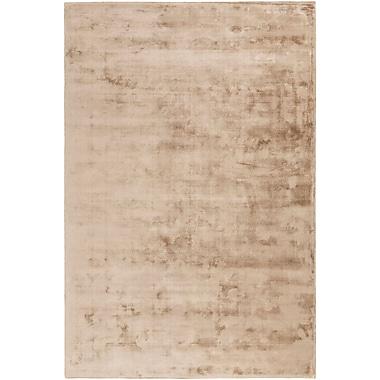 Orren Ellis Ayala Hand-Loomed Tan Area Rug; 2' x 3'