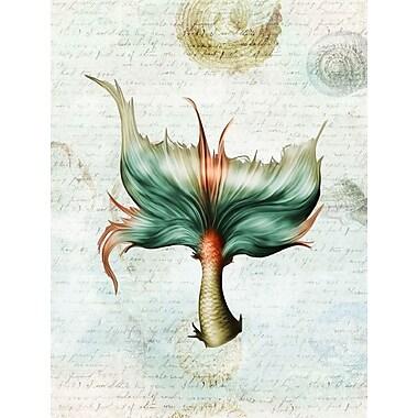 Caroline's Treasures Mermaids and Mermen Tail 2-Sided Garden Flag