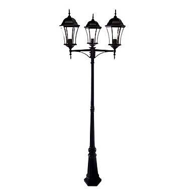 Acclaim Lighting Brynmawr 3-Light 92'' Post Light