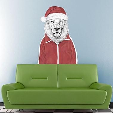My Wonderful Walls Santa Lion Wall Decal; Extra Large