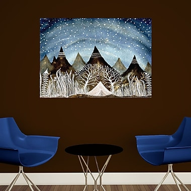 My Wonderful Walls Beneath the Indigo Sky Wall Decal; Large