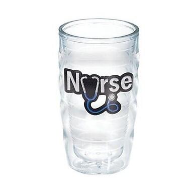 Tervis Tumbler Celebrate Life Nurse Stethoscope 10 Oz. Wavy Tumbler; No
