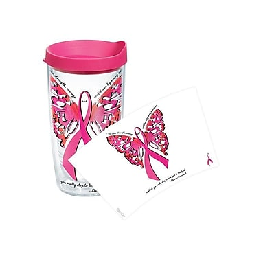 Tervis Tumbler Celebrate Life Pink Ribbon Roosevelt Tumbler; 16 oz.