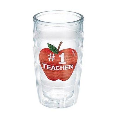 Tervis Tumbler Celebrate Life #1 Teacher Wavy 10 oz. Plastic Every Day Glass