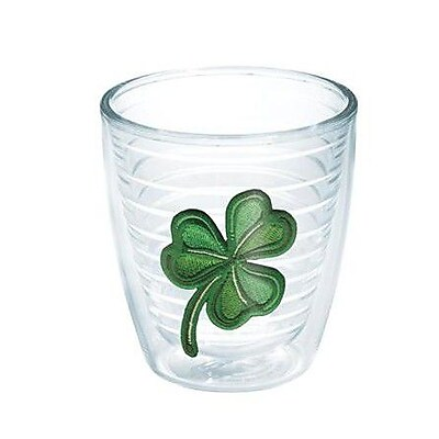 Tervis Tumbler Celebrate Life Shamrock Plastic Every Day Glass; 12 oz.