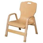 Wood Designs Healthy Kids Wood Classroom Chair; 12''