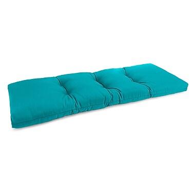 Jordan Manufacturing Universal Outdoor Bench Cushion; Fresco Atlantis