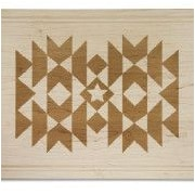 Martins Homewares Go West Saddle Blanket Carve & Serve Board