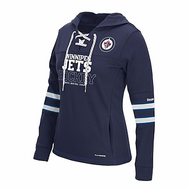 Reebok Winnipeg Jets Lady's PlayWarm® Hoodie, 2X Large