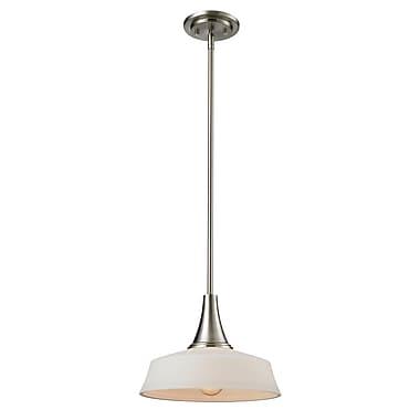 Z-Lite – Petit luminaire suspendu Montego 410MP12, 1 ampoule, opale mate