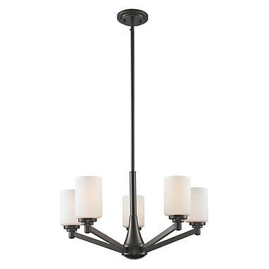 Z-Lite – Lustre Montego 411-5, 5 ampoules, opale mate