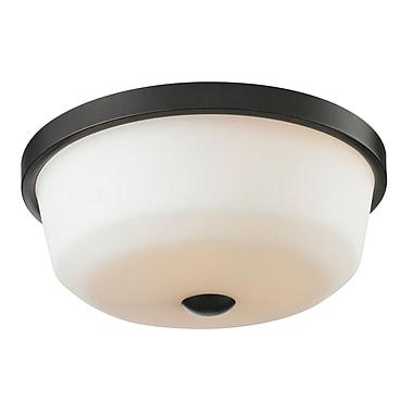 Z-Lite – Luminaire encastré Montego 411F3, 3 amp., opale mate