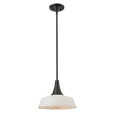 Z-Lite – Petit luminaire suspendu Montego 411MP12, 1 ampoule, opale mate