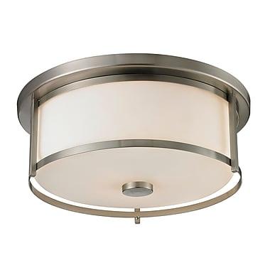 Z-Lite – Luminaire encastré Savannah 412F16, 3 amp., opale mate