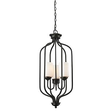 Z-Lite – Luminaire suspendu Cardinal 414-31, 3 amp., opale mate
