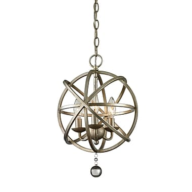 Z-Lite – Luminaire suspendu Acadia 415-12, 3 ampoules