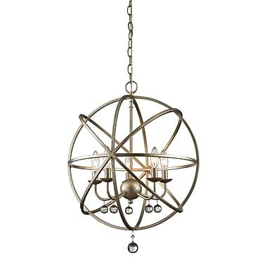 Z-Lite – Luminaire suspendu Acadia 415-20, 5 ampoules