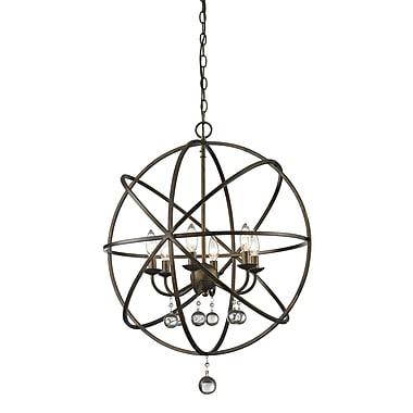 Z-Lite – Luminaire suspendu Acadia 416-24, 6 ampoules