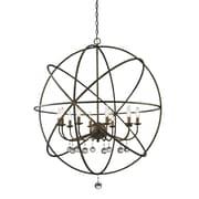 Z-Lite 416-36 Acadia Pendant Light Fixture, Number of Bulbs: 10