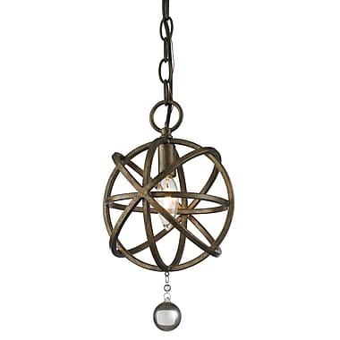 Z-Lite – Petit luminaire suspendu Acadia 416-8, 1 ampoule