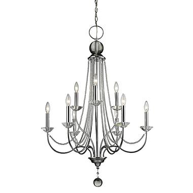 Z-Lite – Lustre Serenade 429-9-CH, 9 ampoules, transparent