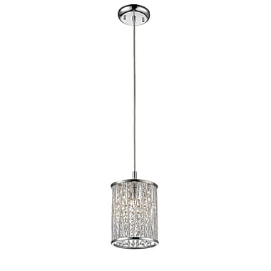 Z-Lite – Petit luminaire suspendu Terra 872CH-RMP, 1 ampoule, opale mate