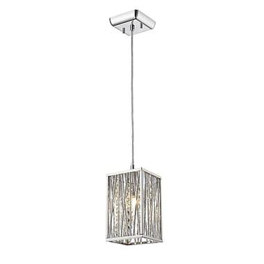 Z-Lite – Petit luminaire suspendu Terra 872CH-SMP, 1 ampoule, opale mate