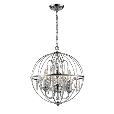 Z-Lite – Luminaire suspendu Laia 895CH, 3 ampoules