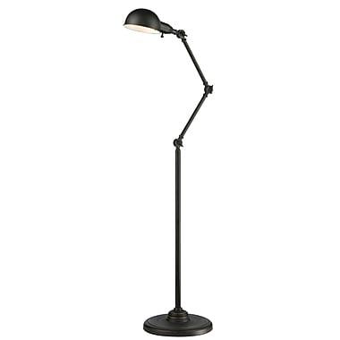 Z-Lite – Lampe sur pied Stuart FL118-OB, 1 ampoule, bronze d'époque