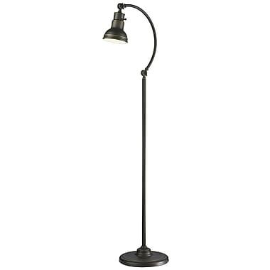 Z-Lite – Lampe sur pied Ramsay FL119-OB, 1 ampoule, bronze d'époque