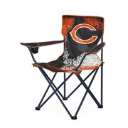 Idea Nuova NFL Kids Camping Chair w/ Cup Holder; Chicago Bears