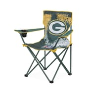 Idea Nuova NFL Kids Camping Chair w/ Cup Holder; Green Bay Packers