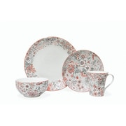 222 Fifth Evangeline 16 Piece Dinnerware Set, Service for 4