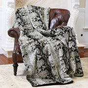 Wild Mannered Wild Mannered Throw Blanket; 58'' L x 60'' W