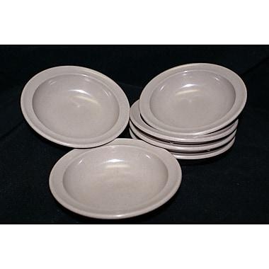 Prolon 4.5 Oz. Melamine Narrow Rim Fruit Bowl (Set of 6); White