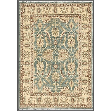 Pasargad Ferehan Hand-Knotted Light Blue/Ivory Area Rug
