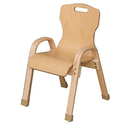 Wood Designs Healthy Kids Wood Classroom Chair; 12''