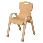 Wood Designs Healthy Kids Wood Classroom Chair; 14''