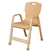Wood Designs Healthy Kids Wood Classroom Chair; 16''