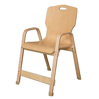 Wood Designs Healthy Kids Wood Classroom Chair; 18''