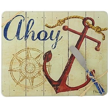 LS Arts, Inc. Ahoy w/ Spreader Cheese Board