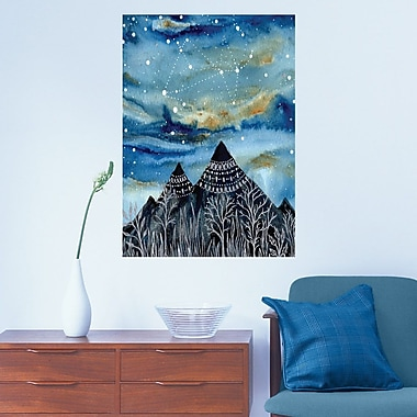 My Wonderful Walls The Summer Triangle Wall Decal; Small