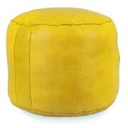 Ikram Design Tabouret Fez Pouf Leather Ottoman