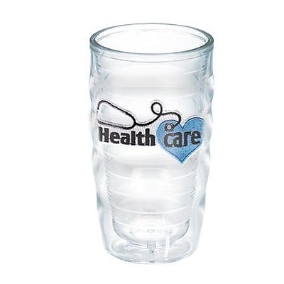 Tervis Tumbler Celebrate Life Healthcare Wavy 10 oz. Plastic Every Day Glass; No
