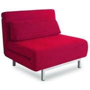 New Spec Convertible Chair; Red