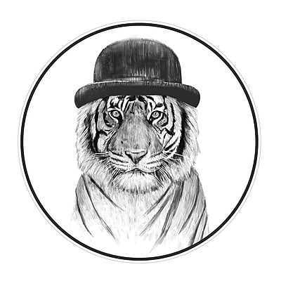 My Wonderful Walls Welcome to the Jungle Tiger Wall Decal; Medium